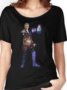 Galactic Peter Capaldi Women's Relaxed Fit T-Shirt
