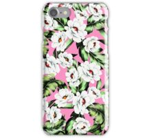 Exotic Flower Floral Pattern iPhone Case/Skin