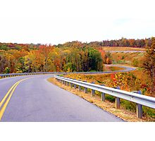 The Roads of Autumn Photographic Print
