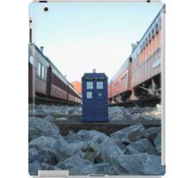 Train Track TARDIS iPad Case/Skin