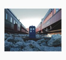 Train Track TARDIS Kids Clothes