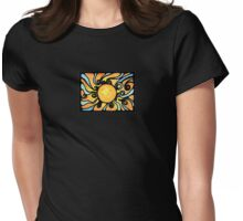 Sunburst Womens Fitted T-Shirt