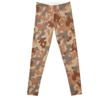 Military desert camouflage design always fashion Leggings