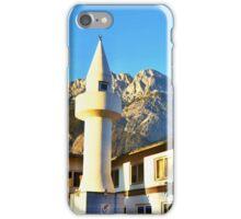 Mosque Under The Hohe Munde Peak In Alps iPhone Case/Skin