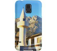 Mosque Under The Hohe Munde Peak In Alps Samsung Galaxy Case/Skin