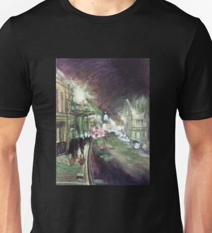 Oxford High Street at Night Unisex T-Shirt