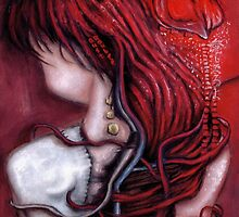 my heart soars like a blood red artifact by ROUBLE RUST