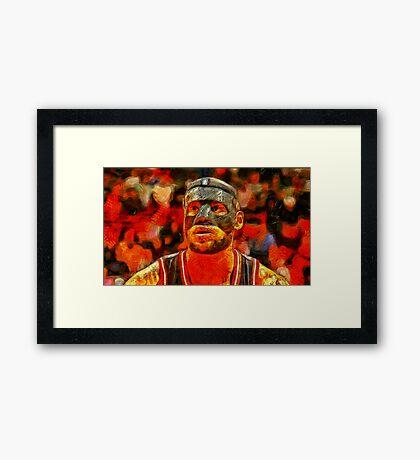 LBJ  Framed Print