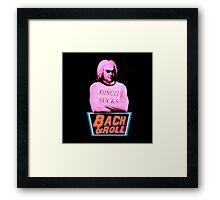 Bach & Roll Framed Print