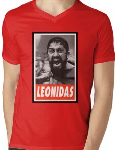 -MOVIES- Leonidas 300 Mens V-Neck T-Shirt