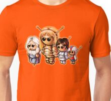 "SPACE GIANTS ""HAPPY FAMILY"" Pooterbellies DIE CUT Unisex T-Shirt"