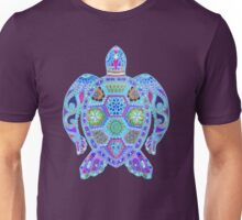 Royal Sea Turtle -  colorful blues Unisex T-Shirt