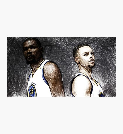 Warriors Duo  Photographic Print