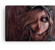 Disturbance of the pain-sensitive structures in my head Canvas Print
