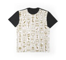Ancient Egyptian Hieroglyphs Graphic T-Shirt