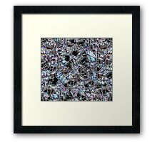 The Fabric Of Society Framed Print