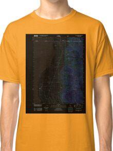 USGS TOPO Map California CA Willow Ranch 20120312 TM geo Inverted Classic T-Shirt