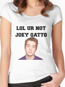 Joey Gatto LOL Women's Fitted Scoop T-Shirt