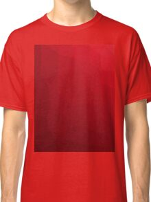 RED GEOMETRIC LOW POLY  Classic T-Shirt