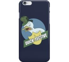 Duck-Tective iPhone Case/Skin