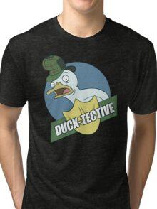 Duck-Tective Tri-blend T-Shirt