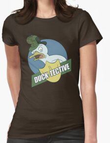 Duck-Tective Womens Fitted T-Shirt