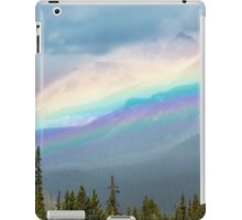 Rainbow Over the Icefields Parkway  iPad Case/Skin