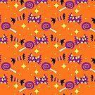 Halloween Treats Pattern by SaradaBoru