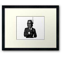 The Renegade - Black Tie Framed Print