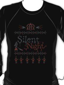 Silent Night ugly christmas T-Shirt