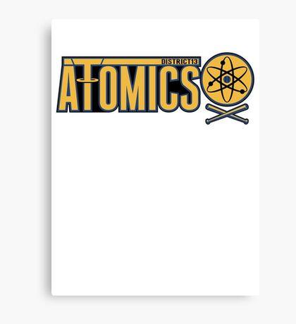 District 13 Atomics Canvas Print