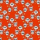 Sparkle Skull Pattern by SaradaBoru