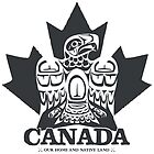 Canada Eagle Dark Grey by clemz