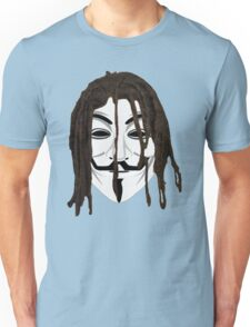 The Black Anonymous Unisex T-Shirt
