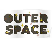 Wilde & Sweet - Outer Space Logo Poster