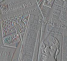 Sunday papers by Thad Zajdowicz