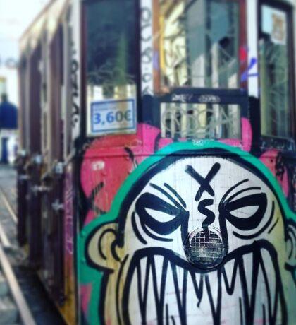 Tram Slam Sticker