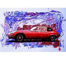 The most beautiful car ever made Photographic Print