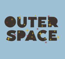 Wilde & Sweet - Outer Space Logo Kids Tee