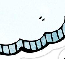 cartoon thought cloud Sticker