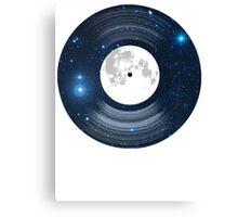 Vinyl space Canvas Print