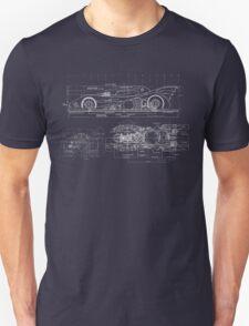 Batmobile Blueprint T-Shirt