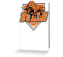 District 10 Bulls Greeting Card
