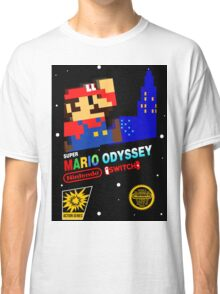 Super Mario Odyssey Switch Classic Classic T-Shirt