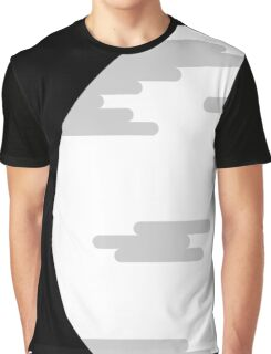 Modern Cartoon Vector Moon Graphic T-Shirt