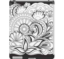 black&white zen composition  iPad Case/Skin