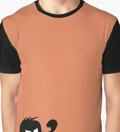 BadaBada - A is for Angry Graphic T-Shirt