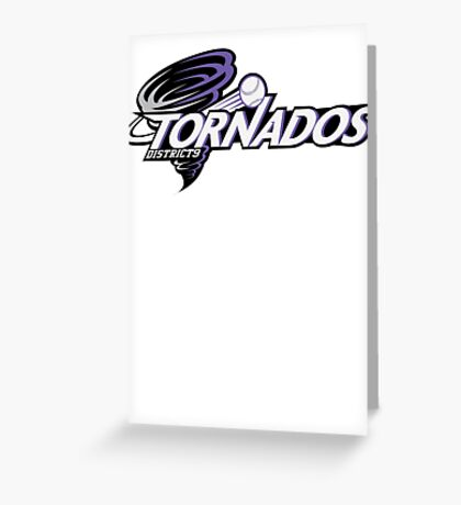 District 9 Tornados Greeting Card