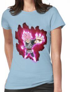goku black super saiyan rose  Womens Fitted T-Shirt