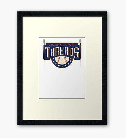 District 8 Threads Framed Print
